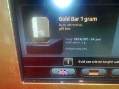 Gold bar - 1 g