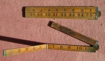 carpenter's inch rule